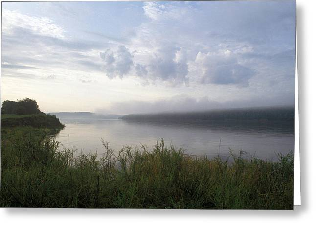 Amur Greeting Cards - Amur River Greeting Card by Anonymous