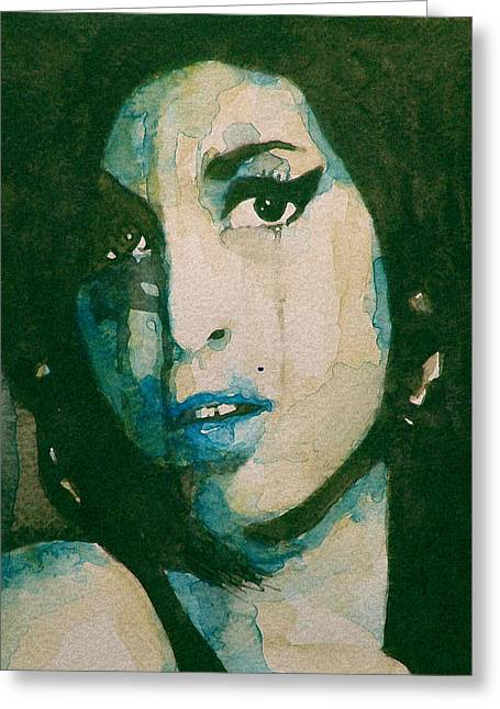 Amy Greeting Cards - Amy Greeting Card by Paul Lovering