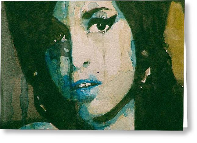 Amy Greeting Card by Paul Lovering