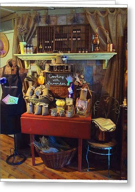 Interior Still Life Digital Art Greeting Cards - An Antique Finish Greeting Card by Glenn McCarthy Art and Photography