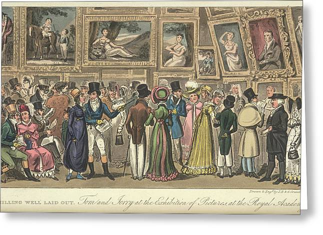 An Art Exhibition Greeting Card by British Library