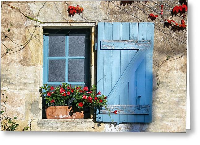 South Of France Greeting Cards - An early autumn Greeting Card by Nomad Art And  Design