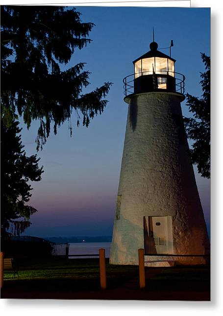 Concord Point Greeting Cards - An Early morning Light Greeting Card by Gary Wightman