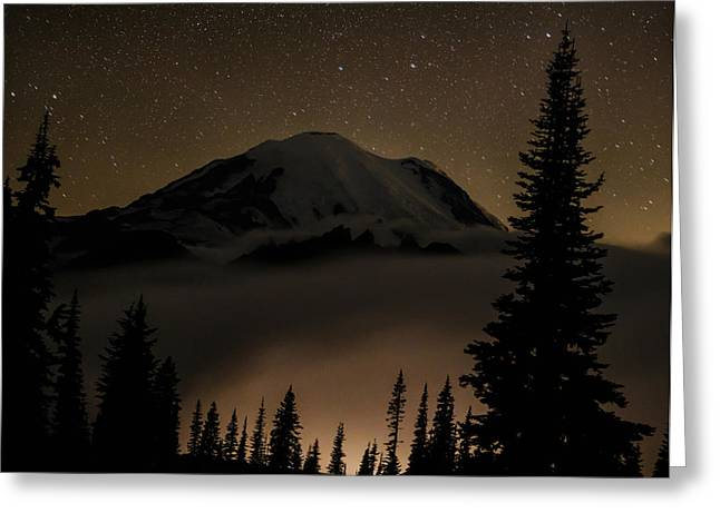 High Country Greeting Cards - An Evening Above the Clouds Greeting Card by Angie Vogel