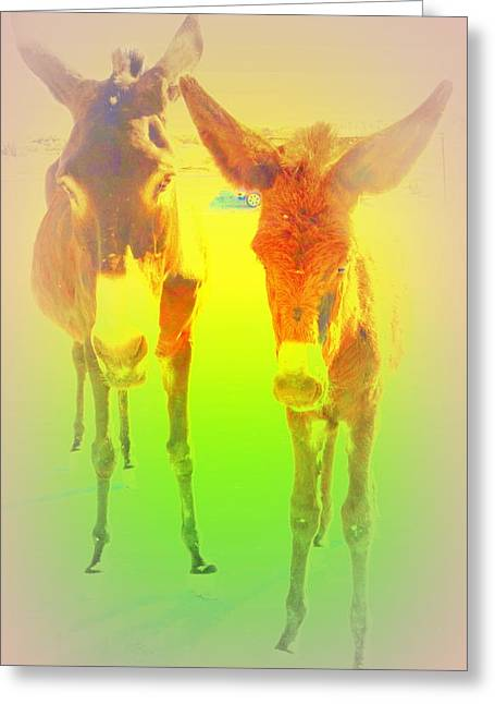 Psychiatric Greeting Cards - An Extremely Hot Day Greeting Card by Hilde Widerberg