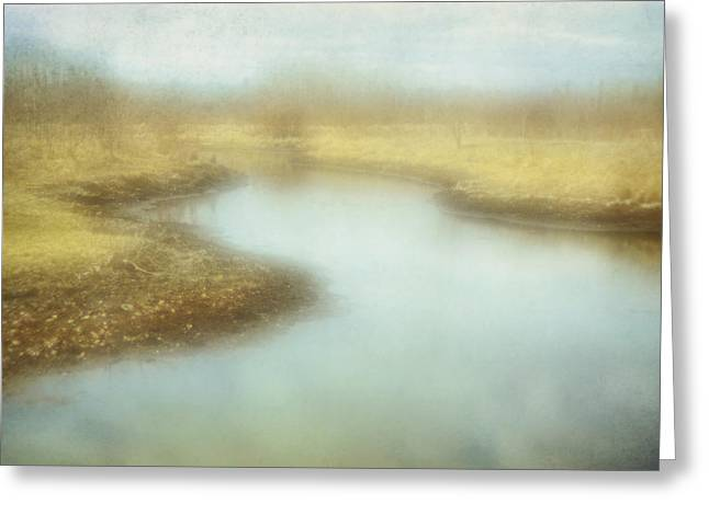 Computer Enhance Greeting Cards - An Impressionist Pictorialist Greeting Card by Roberta Murray