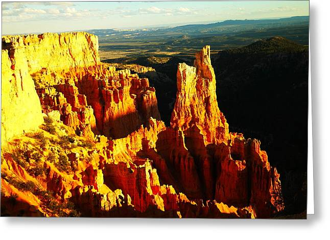 Southwestern Photography Greeting Cards - An October View Greeting Card by Jeff  Swan