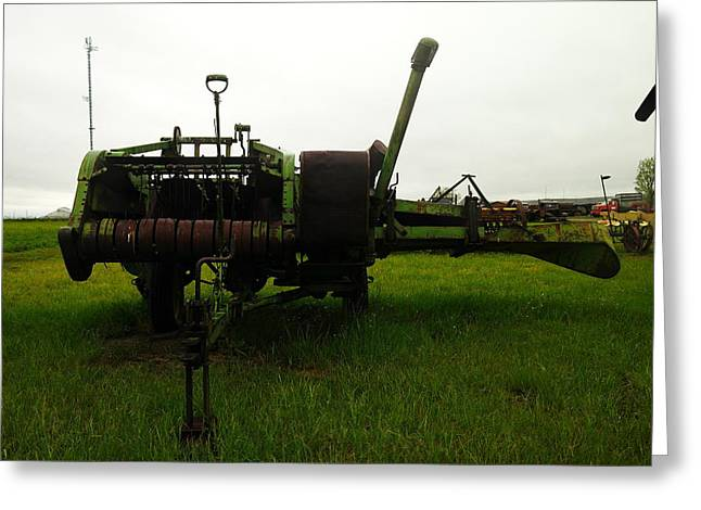 Old Relics Photographs Greeting Cards - An Old Bailor Greeting Card by Jeff  Swan