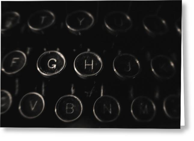 Typewriter Keys Greeting Cards - An Old Royal  Greeting Card by Michael Demagall