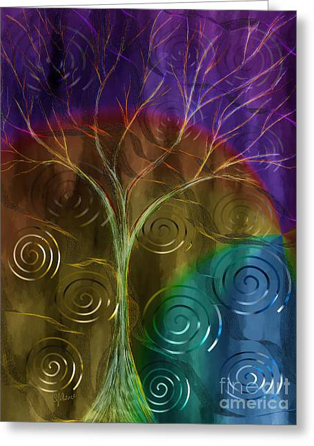 Abstract Digital Paintings Greeting Cards - An Ordinary Miracle Greeting Card by Sydne Archambault