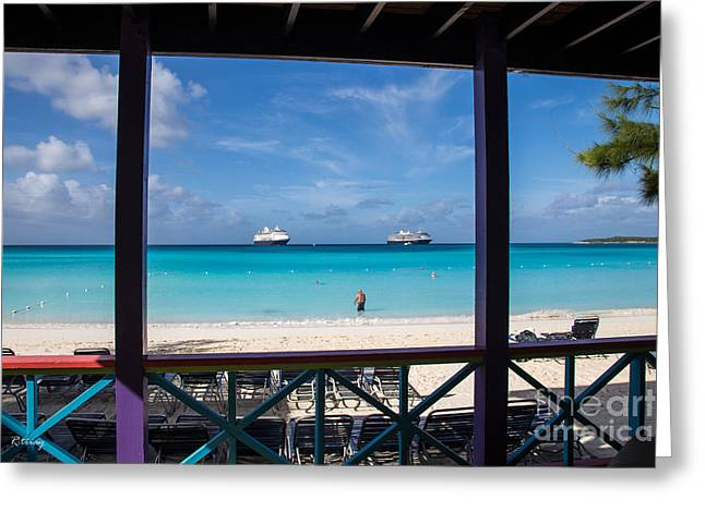 Toy Boat Greeting Cards - An Unforgettable Sight in the Bahamas Greeting Card by Rene Triay Photography