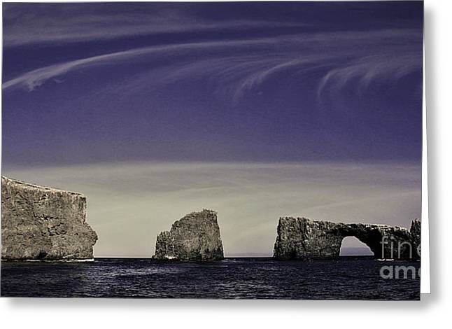 Ventura California Greeting Cards - Anacapa Islands 3 Greeting Card by Cheryl Young