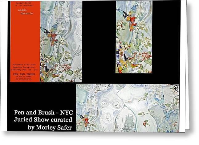 Morley Greeting Cards - Anahi DeCanio at Pen and Brush Greeting Card by Anahi DeCanio