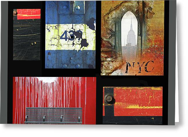 Commercial Photography Mixed Media Greeting Cards - Anahi Decanio Photography Licensing Samples - Urban Greeting Card by Anahi DeCanio