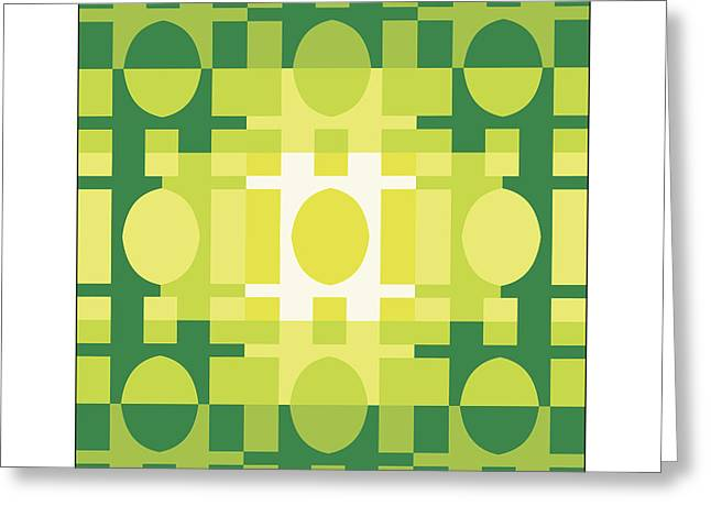 Analogous Greeting Cards - Analogous Color Harmony 2 Greeting Card by Philip Tolok