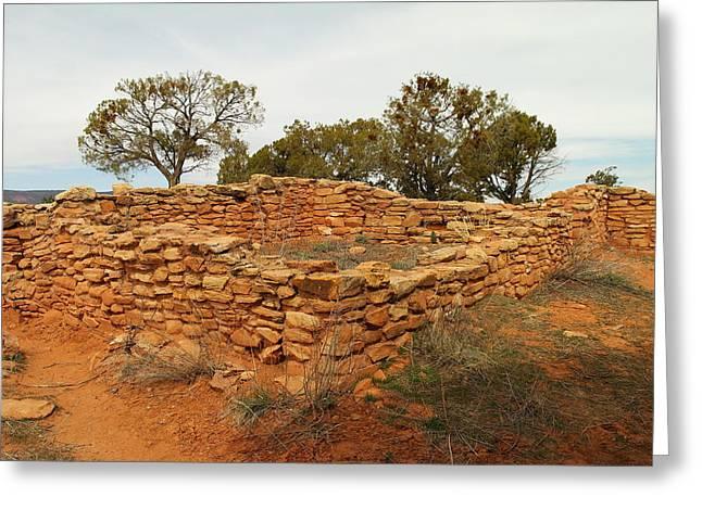 Southern Utah Greeting Cards - Anasazi Ruins Southern Utah Greeting Card by Jeff  Swan