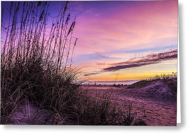 Gulf Of Mexico Scenes Greeting Cards - Anastasia Dawn Greeting Card by Marvin Spates