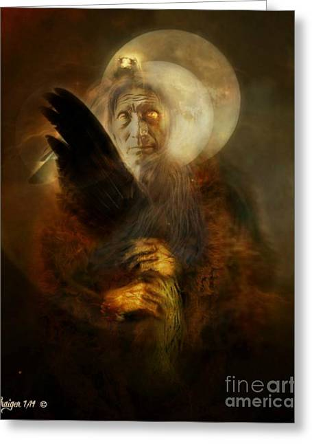 Bible Greeting Cards - Ancestral voices Greeting Card by Craiger Martin