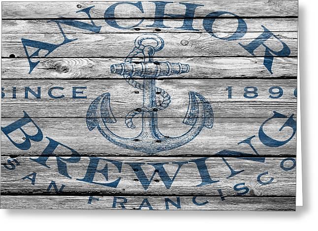 Anchored Greeting Cards - Anchor Brewing Greeting Card by Joe Hamilton