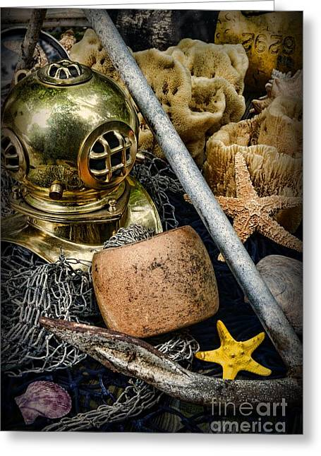 Ssi Greeting Cards - Anchors Aweigh Greeting Card by Paul Ward