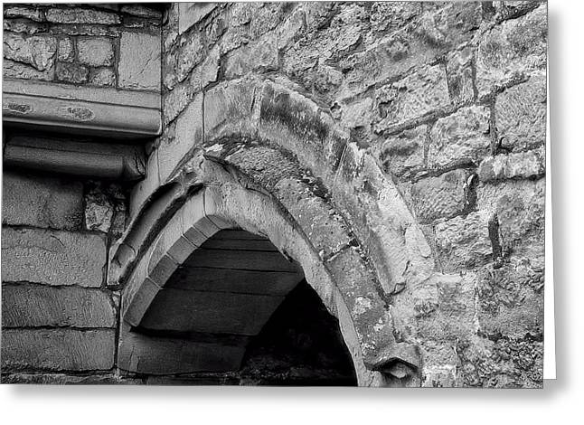 Niel Morley Greeting Cards - Ancient Arch Greeting Card by Niel Morley