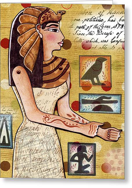 Ancient Brands Greeting Card by Elaine Jackson