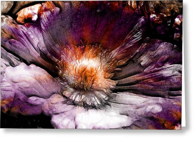 Purchase Greeting Cards - Ancient Flower 1 Greeting Card by Lilia D