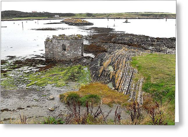 Greetingcard Greeting Cards - Ancient Fortification Greeting Card by Patrick J Murphy