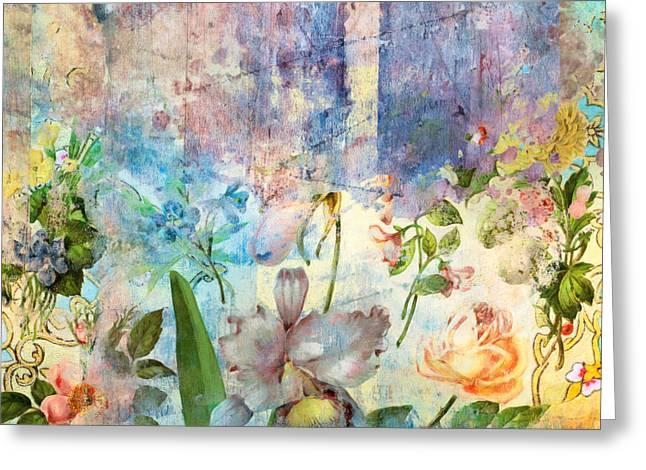 Ancient Future - Fresh Bloom Greeting Card by Aimee Stewart