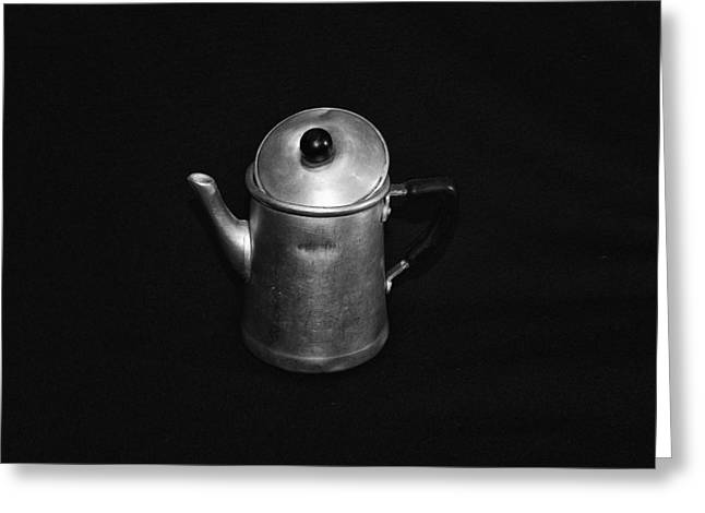 Neapolitan Greeting Cards - Ancient Neapolitan Coffee Machine Greeting Card by Giovanni Chianese