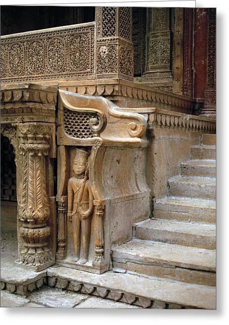 Ancient Rajasthan Greeting Card by Shaun Higson