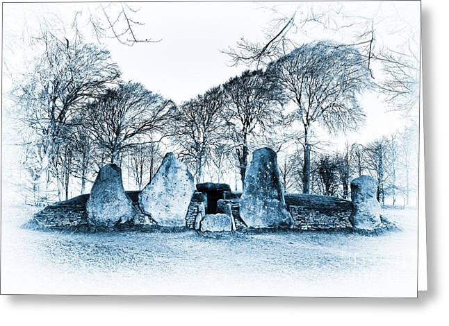 Bronze Age Greeting Cards - Ancient Smithy Greeting Card by Tim Gainey