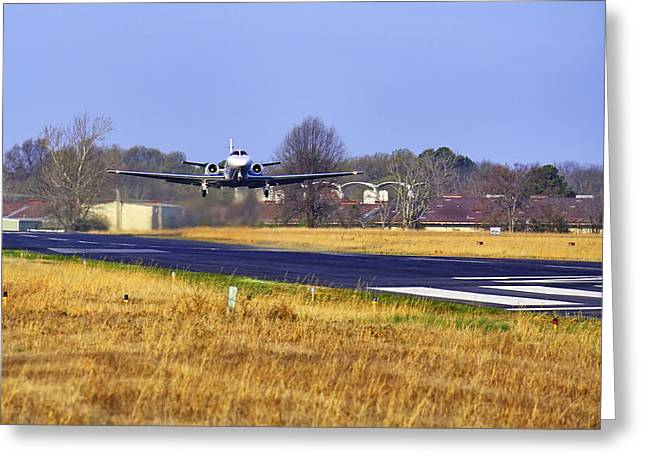 Conway Arkansas Greeting Cards - And Away We Go Greeting Card by Jason Politte