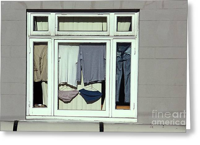 Window Of Life Greeting Cards - and if youre going to IV Greeting Card by Meleah Fotografie