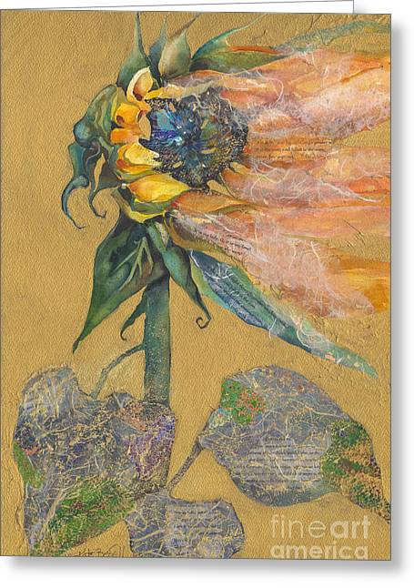 And Juliet Is The Sun Greeting Card by Kate Bedell