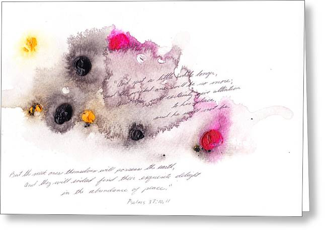 B L Qualls Greeting Cards - And Just a Little While Longer Greeting Card by B L Qualls