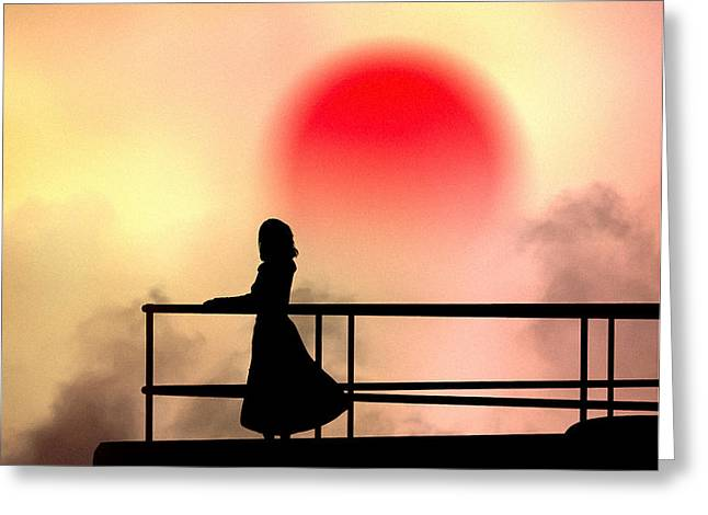 and the sun also rises Greeting Card by Bob Orsillo