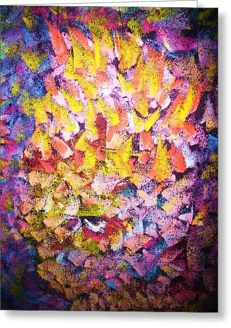 Dwell Pastels Greeting Cards - AndAgain Greeting Card by S Patrick Hagen