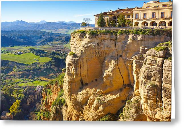 Andalucia Greeting Cards - Andalucia Ronda Greeting Card by Lutz Baar