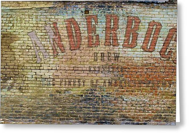 Anderbock Brew Greeting Card by John Babis
