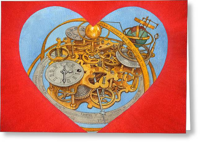 Funds Mixed Media Greeting Cards - Andre Greeting Card by Lisa Kretchman