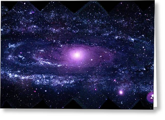 Andromeda Galaxy (m31) Greeting Card by Nasa/swift/stefan Immler (gsfc) And Erin Grand (umcp)