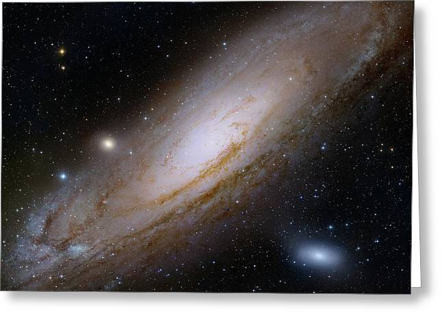 Andromeda Galaxy Greeting Card by Robert Gendler