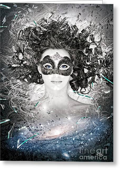Andromeda Galaxy Greeting Cards - Andromeda Greeting Card by Mo T