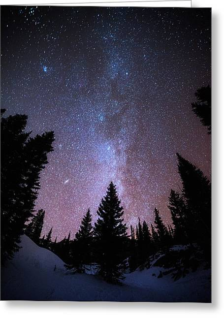 Recently Sold -  - Darren Greeting Cards - Andromeda our Neighbor Greeting Card by Darren  White