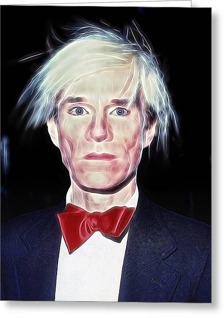 Bowtie Greeting Cards - Andy Greeting Card by Daniel Hagerman