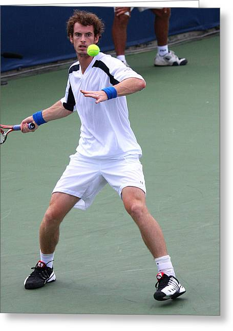 Apt Greeting Cards - Andy Murray  Greeting Card by James Marvin Phelps
