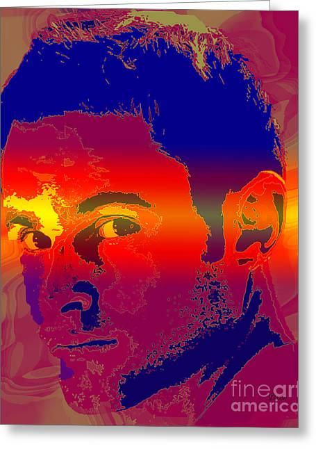 Andy Roddick Greeting Cards - Andy Roddick  Greeting Card by Dalon Ryan