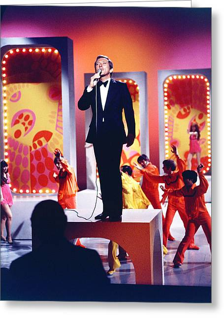 Andy Greeting Cards - Andy Williams Greeting Card by Silver Screen