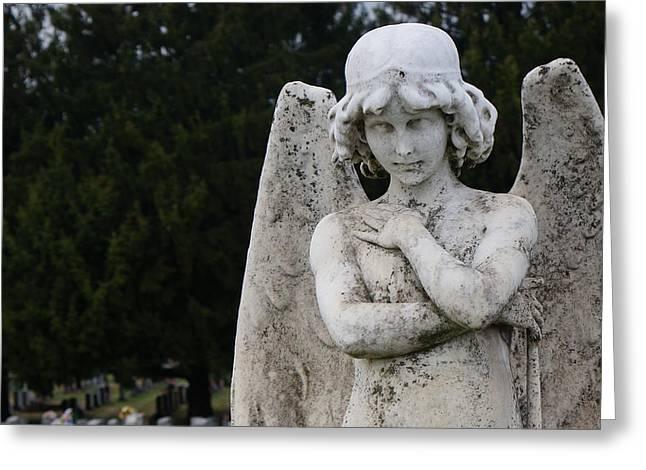 Brian Jones Greeting Cards - Angel Greeting Card by Brian Jones